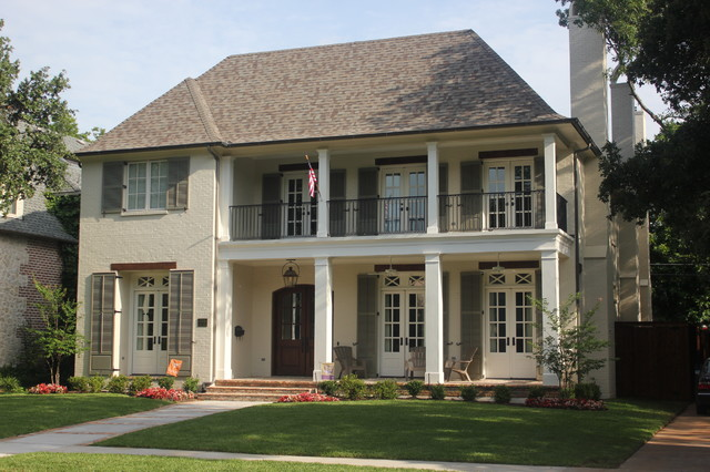 University Park French Colonial American Traditional Exterior