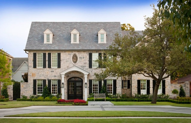 Up05 traditional exterior dallas by ellen grasso for Conventional homes