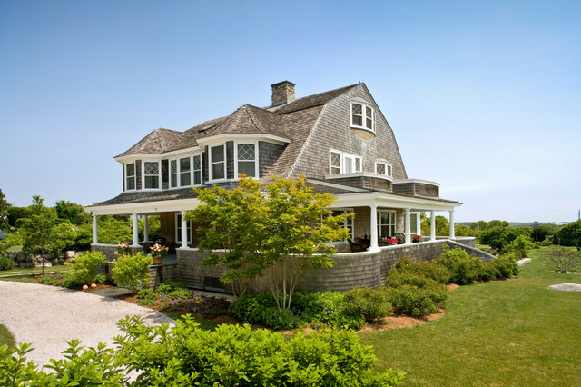 Update coastal rhode island house beach style exterior Beach houses in rhode island
