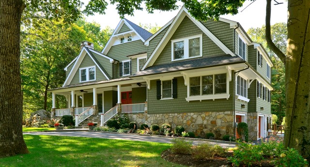 Updated Cottage Traditional Exterior New York By