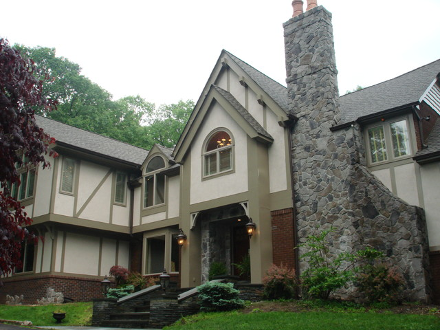 Updated Tudor Traditional Exterior Other Metro By Kenneth Davis Lux International