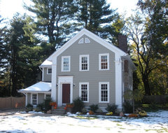 Upper Montclair, NJ, New Home, Classical Proportions traditional exterior