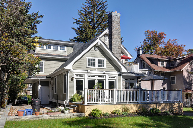 Upper Montclair, NJ, New home, Marion Road traditional-exterior