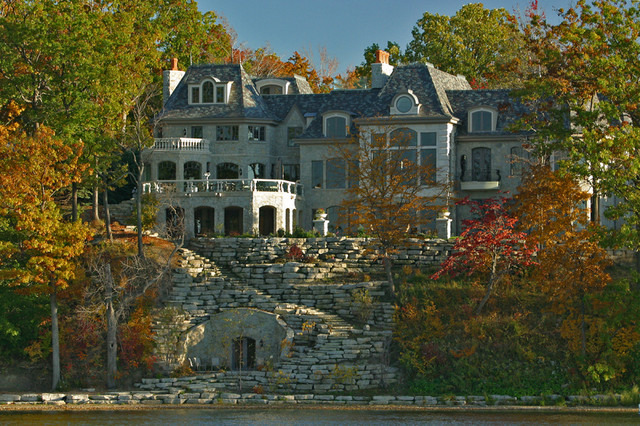 Upper Straits Lake Traditional Exterior Detroit By