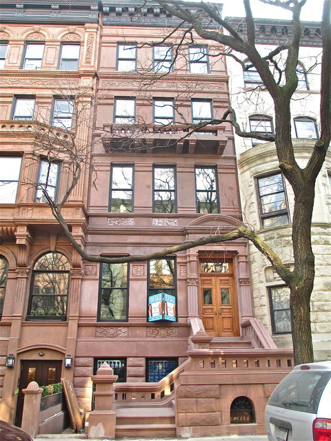Upper west side townhouse traditional exterior for Townhouse exterior design