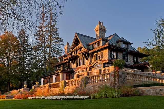 Upstate Manor traditional-exterior
