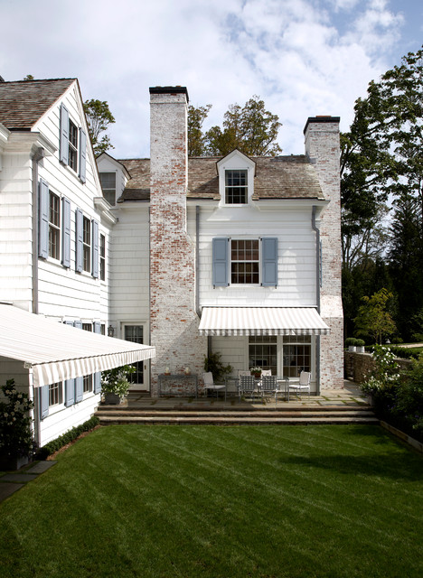 Upstate New York Chic Traditional Country Retreat Traditional Exterior New York By Frank