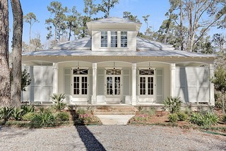 Upton Residence Transitional Exterior New Orleans
