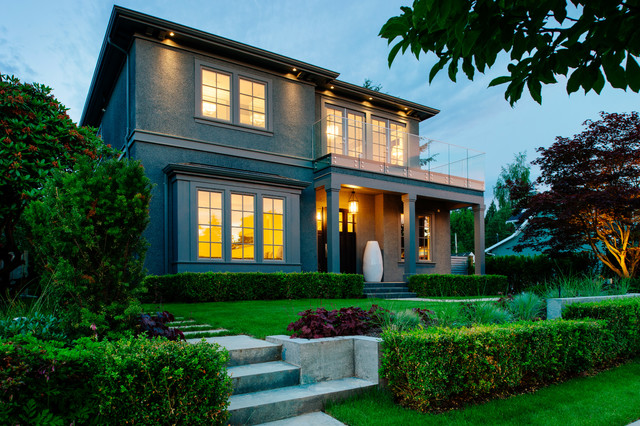 Transitional exterior home photo in Vancouver