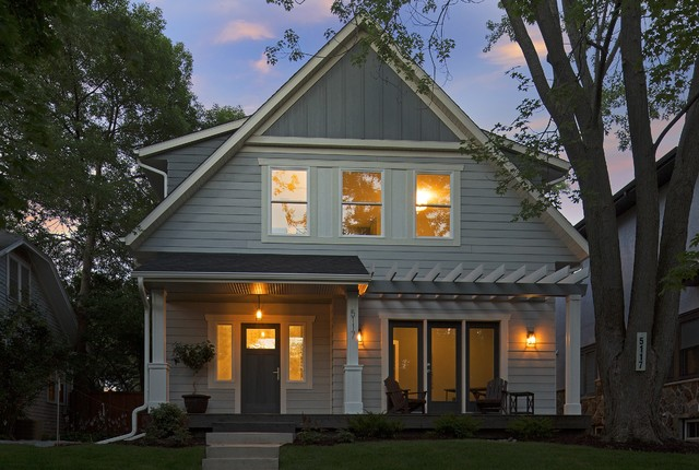 Urban Cottage Transitional Exterior Minneapolis By