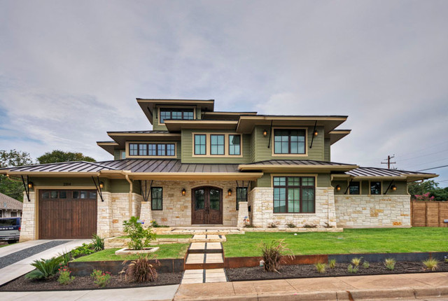 Urban Craftsman traditional-exterior