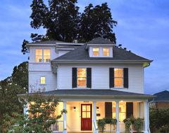 Urban Four-Square farmhouse-exterior