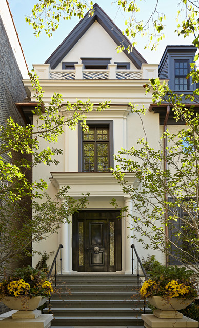 Urban Georgian Traditional Exterior Chicago By Bba