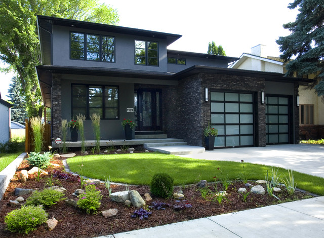 Urban Infill Home contemporary-exterior