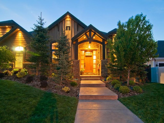 Utahs Luxury Home Builder, Cameo Homes Inc. in North Salt Lake traditional exterior