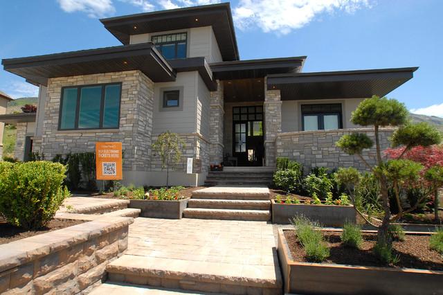 Utah valley parade of homes 2013 contemporary exterior Homebuilders utah