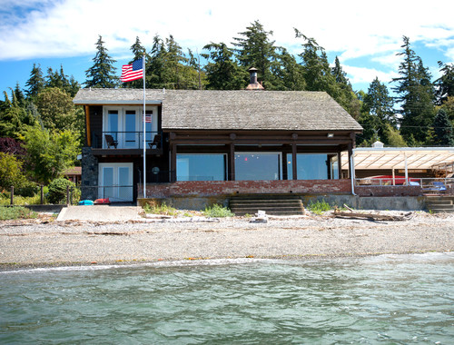 Utsalady Bay Log Cabin Addition