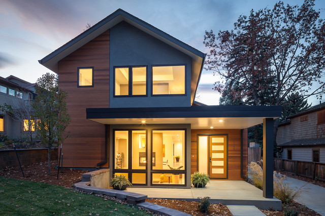 Value driven modern home modern exterior denver by Modern home exteriors photos