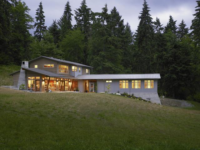 Vashon Residence contemporary-exterior
