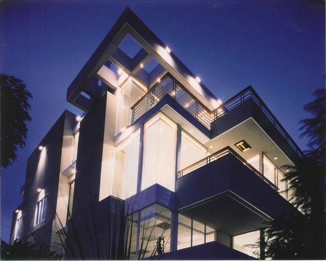 Vasquez Residence - urban home contemporary-exterior