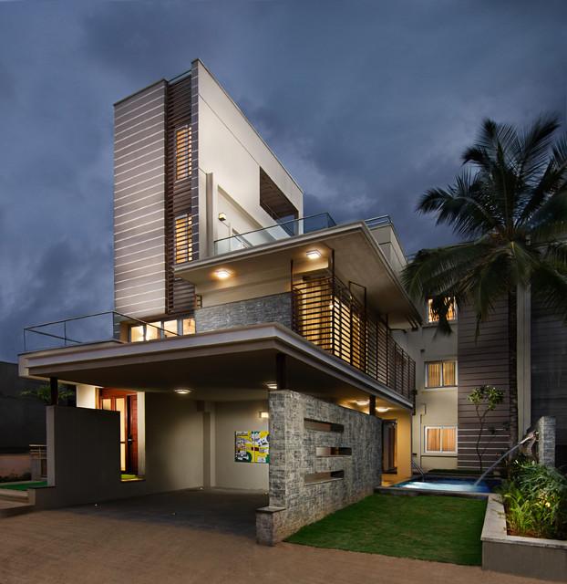 Modern Kitchen Design Ideas From Bangalore Homes  C2NyYXBlLTEtNWlCMVAz: VDB Willow Farm