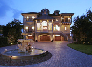 Clearwater Tampa Fl Venetian Period Style Waterfront