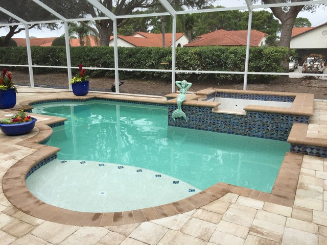 Venice fl swimming pool for Pool designs venice