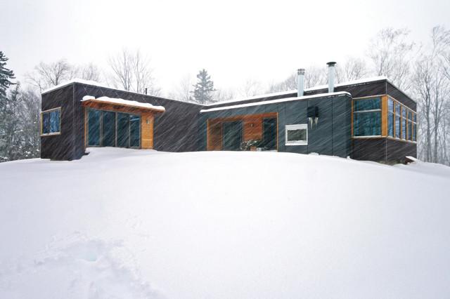 Vermont Cabin Exterior Modern Exterior Other Metro