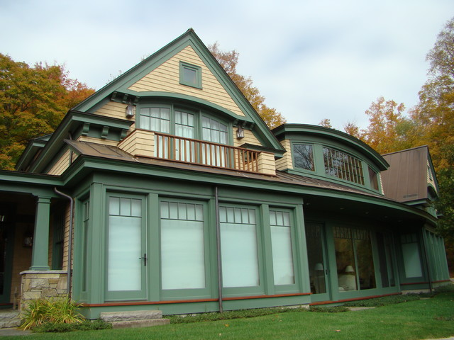 Vermont country home arts crafts exterior other for Vermont country homes