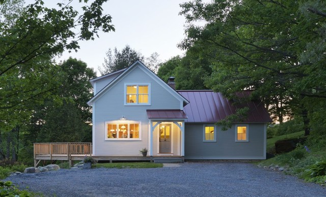 Vermont Farmhouse Farmhouse Exterior Burlington By