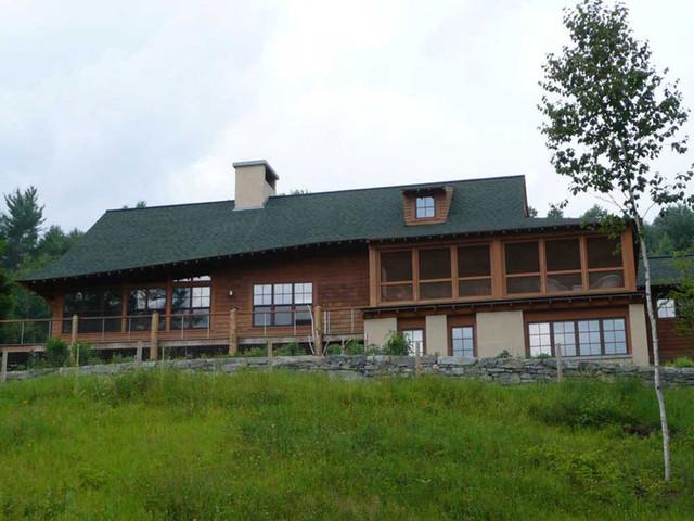 Vermont Lodge eclectic-exterior