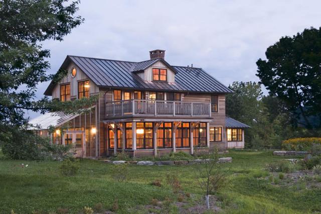 Vermont Organic Farm eclectic-exterior