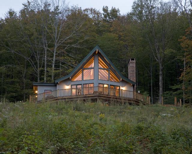 Vermont ski prow modern exterior burlington by for Prow home plans