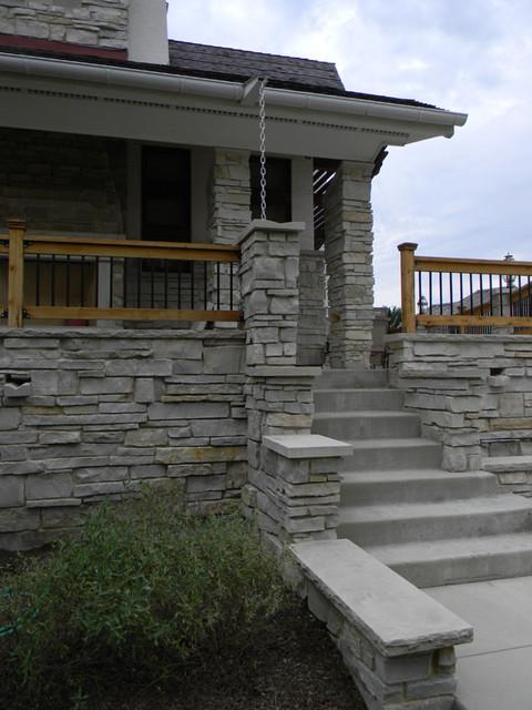 Vernon Hills Private Residence contemporary-exterior