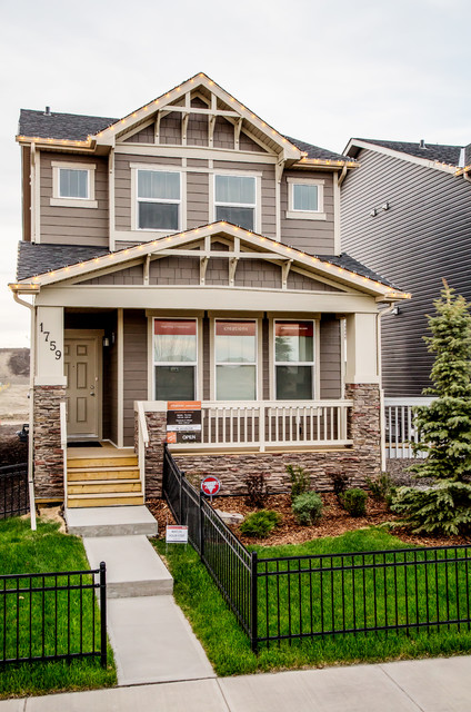 Verve in Legacy in SE Calgary traditional-exterior