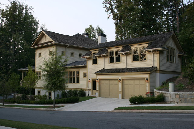 Vickery Residence traditional-exterior