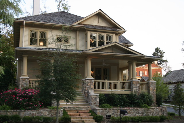 Vickery Residence traditional exterior