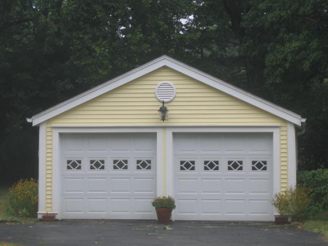 Victorian home garage traditional exterior for Garage doors cincinnati oh