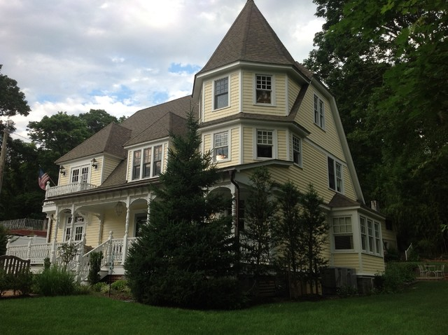 Victorian home victorian exterior new york by for Victorian home exterior designs