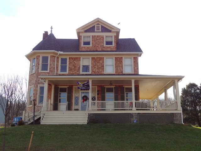 Victorian Queen Ann Restoration And Expansion Farmhouse
