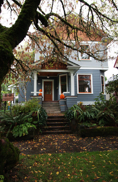 Victorian Remodel - Contemporary - Exterior - portland - by Hammer & Hand