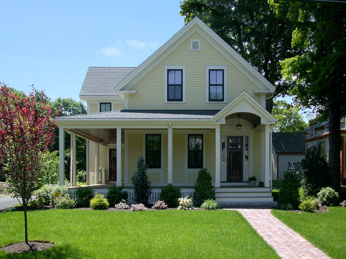 Farmhouse Exterior Colors choosing exterior paint colors - town & country living