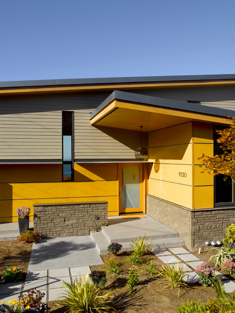 Midcentury Exterior By Mohler + Ghillino Architects