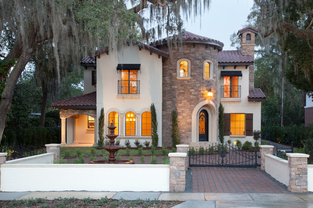 Villa bimalina winter park florida mediterranean for Build a home in florida