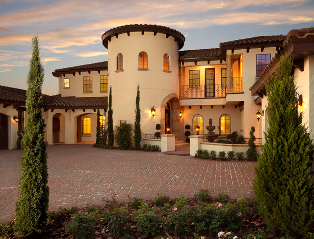 Villa silvina mediterranean exterior orlando by for Custom mediterranean homes