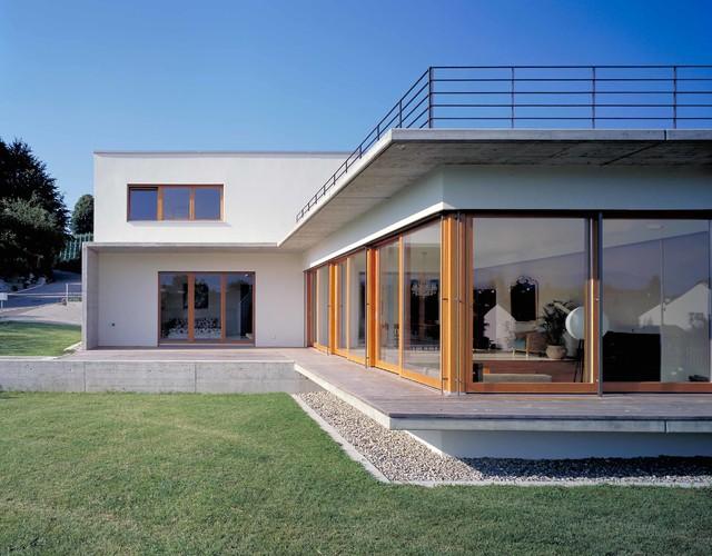 Contemporary house gold coast zurich contemporary for Modern house zurich
