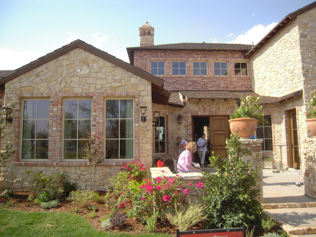 Villa Toscana Traditional Exterior Dallas By