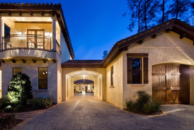 Villa Toscana mediterranean-exterior