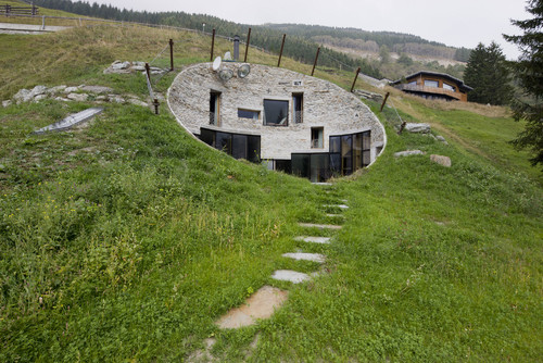 is theis the Cardinal designed earth sheltered house west of Edmonton  Alberta