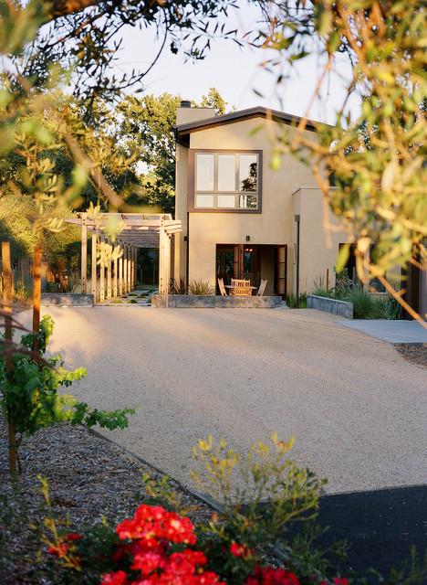 Vineyard Residence contemporary-exterior